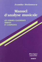 Manuel D'Analyse Musicale T1 - Intérieur - Format classique