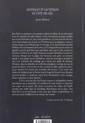 Naufrages Et Sauvetages En Cote Des Iles - 4ème de couverture - Format classique