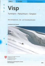 Visp ski - Couverture - Format classique