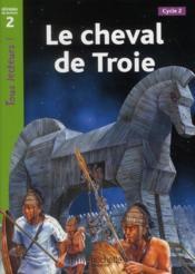 Le cheval de Troie ; niveau 2 - Couverture - Format classique