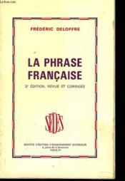 La Phrase Francaise - Couverture - Format classique