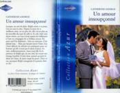 Un amour insoupçonné - Couverture - Format classique