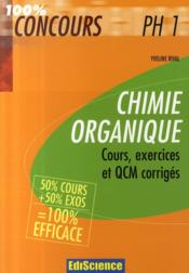 Chimie organique ph1  - Rival