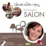 Vente livre :  On change le salon  - Cendrine Domingez