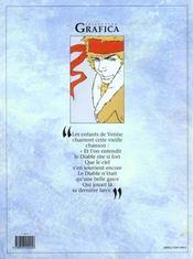 Neige t.5 ; il diavolo - 4ème de couverture - Format classique