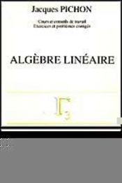 Algebre Lineaire - Intérieur - Format classique