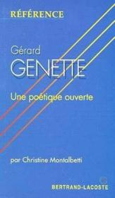 Gerard Genette-Collection Reference - Couverture - Format classique