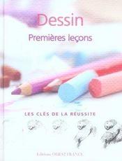 Dessin ; premières leçons - Intérieur - Format classique