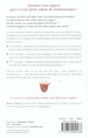 Petite Salade De Mathematiques - 4ème de couverture - Format classique