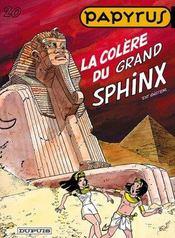 Papyrus t.20 ; la colère du grand sphynx - Intérieur - Format classique