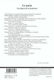 Revue Tumultes T.21 - 4ème de couverture - Format classique