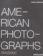 American photographs ; 1900/2000 - Intérieur - Format classique