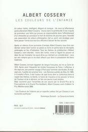 Les couleurs de l'infamie - 4ème de couverture - Format classique