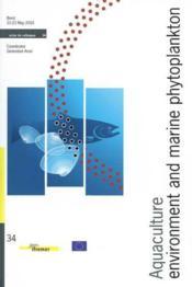 Aquaculture, Environment And Marine Phytoplankton - No34 - Couverture - Format classique