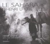 Le Sahara - Intérieur - Format classique