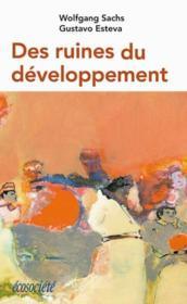 Des Ruines Du Developpement - Couverture - Format classique