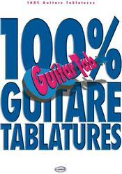 100% guitare tablatures - Couverture - Format classique