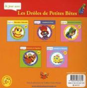 Je Joue Avec Leon Le Bourdon - 4ème de couverture - Format classique