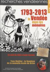 1793-2013, la Vendée dans les mémoires - Couverture - Format classique