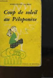 Coup De Soleil Au Peloponese - Couverture - Format classique