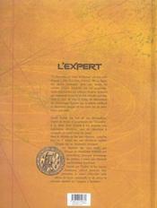 L'expert t.3 ; l'ombre du connetable - 4ème de couverture - Format classique