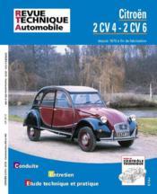 Rta 297.9 Citroen 2cv 4 Et 6 Fourgonnette (71-90) - Couverture - Format classique