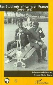 Les Etudiants Africains En France 1950-1965 - Intérieur - Format classique