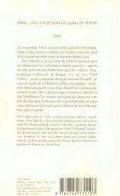 Libra - 4ème de couverture - Format classique