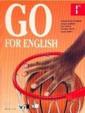 Go For English 1re (Afrique De L'Ouest) - Couverture - Format classique