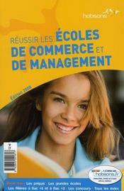 Reussir les écoles de commerce et de management - Intérieur - Format classique