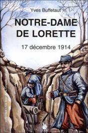 Notre dame de Lorette t.1 - Couverture - Format classique