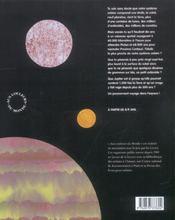 Le système solaire - 4ème de couverture - Format classique
