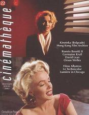 Revue cinémathèque t.22 (édition printemps 2003) - Intérieur - Format classique