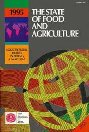 The state of food agriculture 1995 - Couverture - Format classique