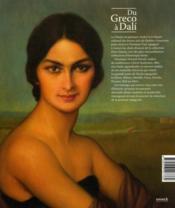 Du Greco à Dalí ; les grands maîtres espagnols de la collection Pérez Simón - 4ème de couverture - Format classique