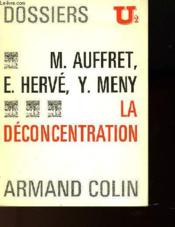 La Deconcentration - Collection U² - Couverture - Format classique