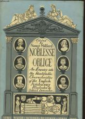 An Enquiry Into The Identifiable Characteristics Of The English Aristocracy - Couverture - Format classique