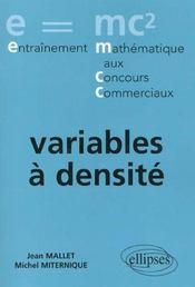Variables A Densite - Intérieur - Format classique