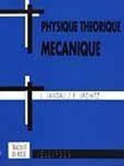 Physique Theorique Mecanique - Couverture - Format classique