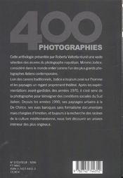 Mimmo Jodice - 4ème de couverture - Format classique