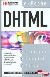 Dhtml - Intérieur - Format classique