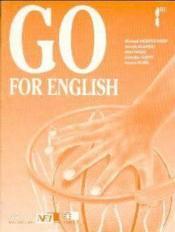 Go For English 1re / Livre Du Professeur (Afrique De L'Ouest) - Couverture - Format classique