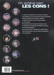 On Acheve Bien Les Cons * Tome 1 - 4ème de couverture - Format classique