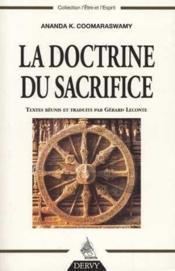 La Doctrine Du Sacrifice - Couverture - Format classique