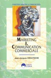 Marketing Et Communication Commerciale - Intérieur - Format classique