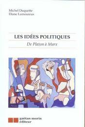 Les idees politiques - Intérieur - Format classique