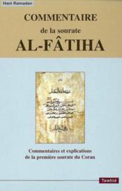 Commentaire de la sourate al-fatiha - Couverture - Format classique