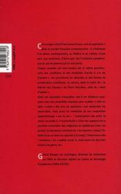 L'Acces A La Vie D'Artiste ; Selection Et Consecration Artistiques - 4ème de couverture - Format classique
