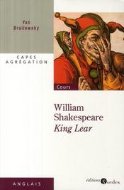 Vente  King Lear, de William Shakespeare  - Brailowsky-Y - Yan Brailowsky