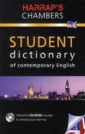 Vente livre :  Harrap's chambers student dictionary of contemporary english  - Collectif